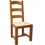 Chaise rustique chêne