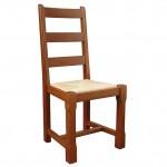 Chaise rustique hêtre