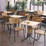 Table et chaises de jardin Artica