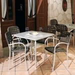 Table et chaise de jardin Aurora