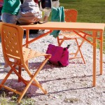 Table de jardin pliante Zic Zac