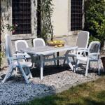 Chaise et table de jardin Beta, Delta et toscana