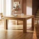 Table salle à manger Baobab carré