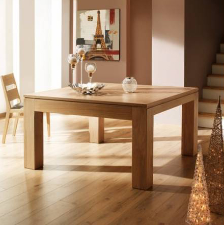 Table salle a manger carre maison design for Table carree 140x140 salle manger