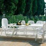 Chaise et table de jardin Creta et Salina